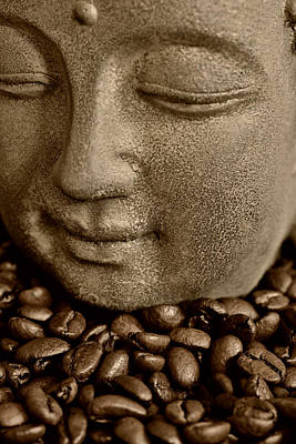 Kaffee Photograph - Coffee Buddha 2 by Falko Follert