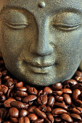 Kaffee Photograph - Coffee Buddha 3 by Falko Follert