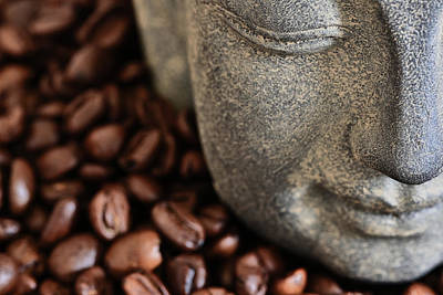 Kaffee Photograph - Coffee Buddha 4 by Falko Follert