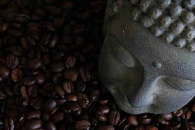 Kaffee Photograph - Coffee Buddha 6 by Falko Follert