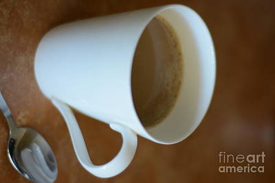 Coffee Cup 01 Art Print by Bobby Mandal