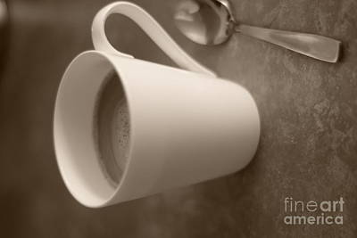 Coffee Cup Art Print by Bobby Mandal