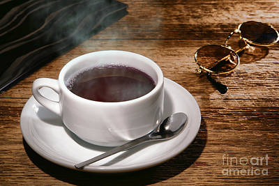 Steamy Photograph - Coffee For The Voyageur by Olivier Le Queinec