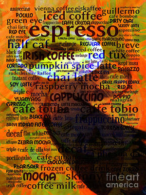 Coffee Lover 5d24472p8 Art Print by Wingsdomain Art and Photography