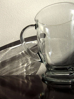 Photograph - Coffee Mug And Reflection by Mary Bedy