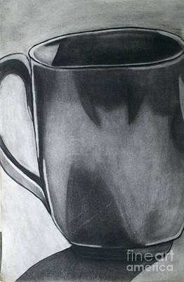 Drawing - Coffee Mug by Cecilia Stevens