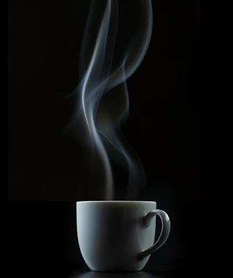 Photograph - Coffee Or Tea Cup With Steam by Paul Taylor
