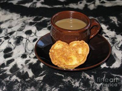 Photograph - Coffee Served With Love by Ausra Huntington nee Paulauskaite