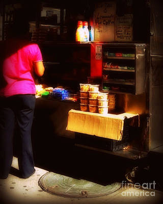 Photograph - Coffee Stop - Street Vendors Of New York City by Miriam Danar