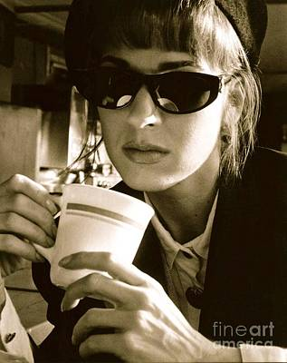Coffee Study Original by Trish Hale