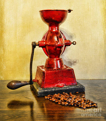 Coffee The Morning Grind Art Print by Paul Ward