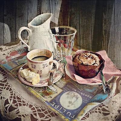 Tasty Wall Art - Photograph - Coffee Time by Barbara Orenya