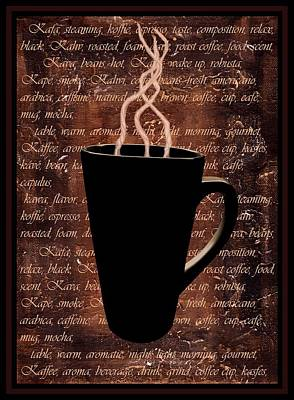 Coffee Time Print by Barbara St Jean