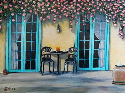 Coffee Time Original by Janet Guss