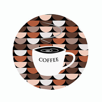 Coffee Time Art Print by Kenneth Feliciano