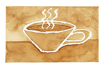 Coffee Print by Tricia Griffith