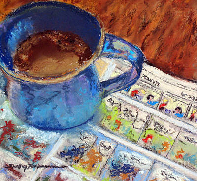 Painting - Coffee With Peanuts by Shelley Koopmann