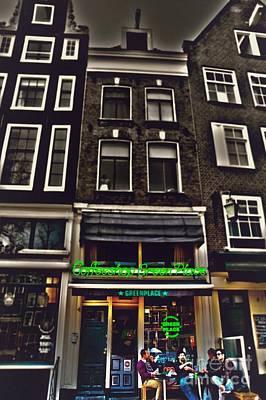 Coffee Shop Amsterdam Art Print