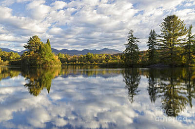 Photograph - Coffin Pond - Sugar Hill New Hampshire Usa by Erin Paul Donovan