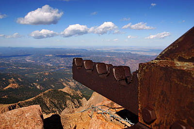 Photograph - Cog Railroad On Pike's Peak No.2 by Daniel Woodrum