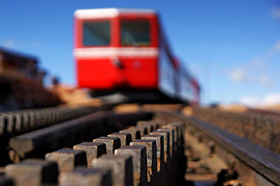 Photograph - Cog Railroad On Pike's Peak No.3 by Daniel Woodrum