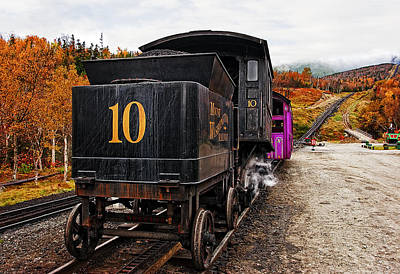 Hill Photograph - Cog Railway by Marcia Colelli