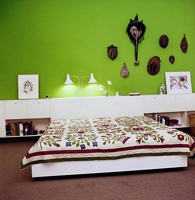 Photograph - Cohen's Bedroom by Horst P. Horst