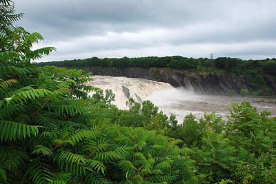 Photograph - Cohoes Falls by John Schneider