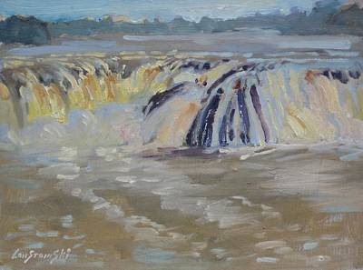Painting - Cohoes Falls by Len Stomski
