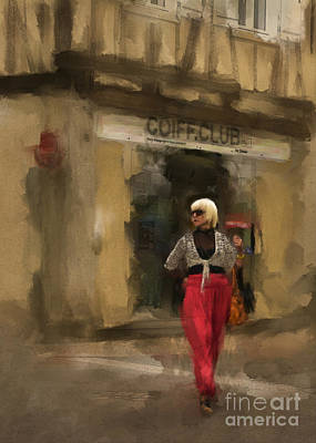 Photograph - Coiffure Club by Terry Rowe
