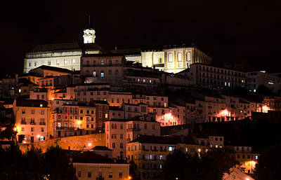 Photograph - Coimbra At Night by Pablo Lopez