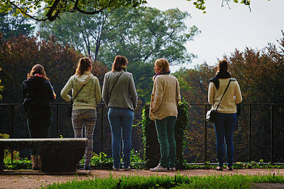 Photograph - Coimbra Girls by Pablo Lopez