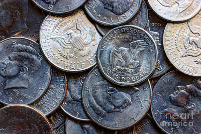 Photograph - Coin Collection by Heidi Smith