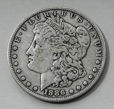 1886 Morgan Dollar Original