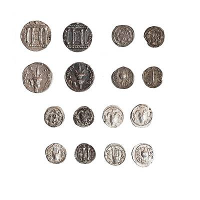 Coins From The Shimon Bar Kokhba Revol Art Print