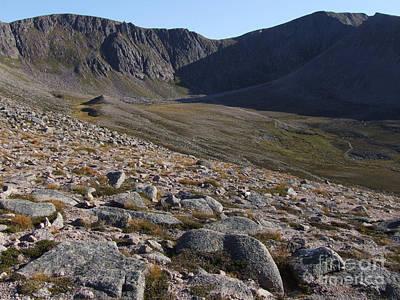 Art Print featuring the photograph Coire An T' Sneachda - Cairngorm Mountains by Phil Banks