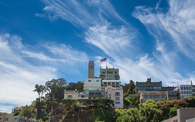 Photograph - Coit Tower In San Francisco by John M Bailey