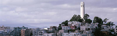 Coit Tower On Telegraph Hill, San Art Print by Panoramic Images