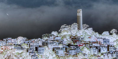 Coit Tower Surreal Art Print by Diego Re