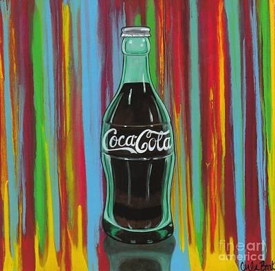 Painting - Coke Bottle by Carla Bank