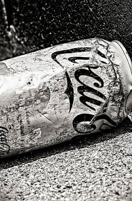Photograph - Coke Can - Mike Hope by Michael Hope