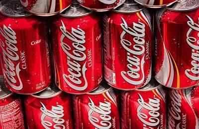 Photograph - Coke Cans by Bob Pardue