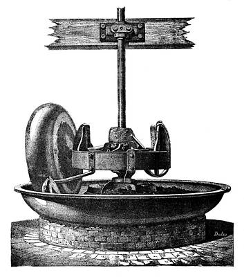 1874 Photograph - Coke-crushing Machine by Science Photo Library