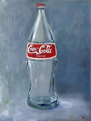 Painting - Coke by Lindsay Frost