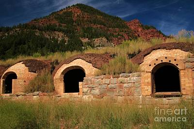 Photograph - Coke Ovens by Adam Jewell