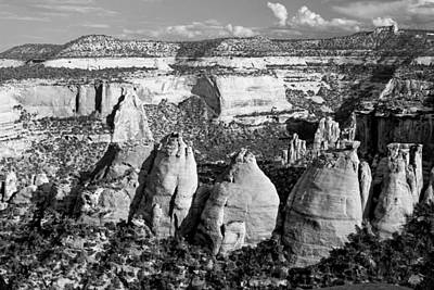 Photograph - Coke Ovens Colorado National Monument Bw by Mary Bedy