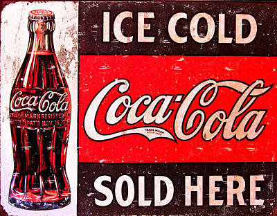 Coca-cola Signs Photograph - Coke by Reid Callaway