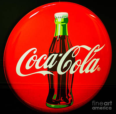 Coke Top Art Print by Tikvah's Hope