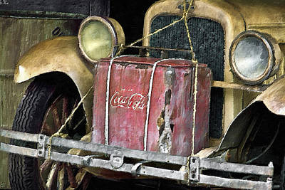 Digital Art - Cola Road Trip 1 by Patrick M Lynch