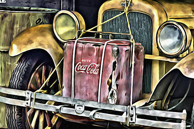 Digital Art - Cola Road Trip 2 by Patrick M Lynch